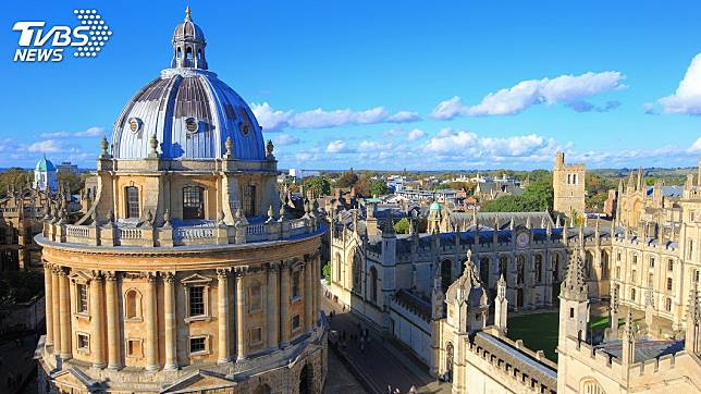 英國牛津大學萬靈學院入學考試出了一道題目,創意度破表。(圖/TVBS)