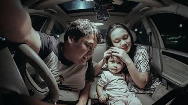 Cecep Reza dan keluarga [Instagram/cecepreza_]