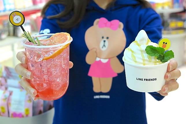 今次LINE FRIENDS MEETS Catalog系列還特別推出了食品與飲品,到沙田新城市廣場的LINE FRIENDS Cafe就可找到他們。