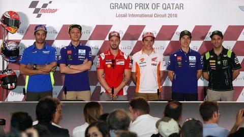 Marquez Dibenci Rossi dan Enam Pebalap MotoGP