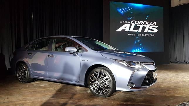 Toyota Corolla Altis Hybrid 2019