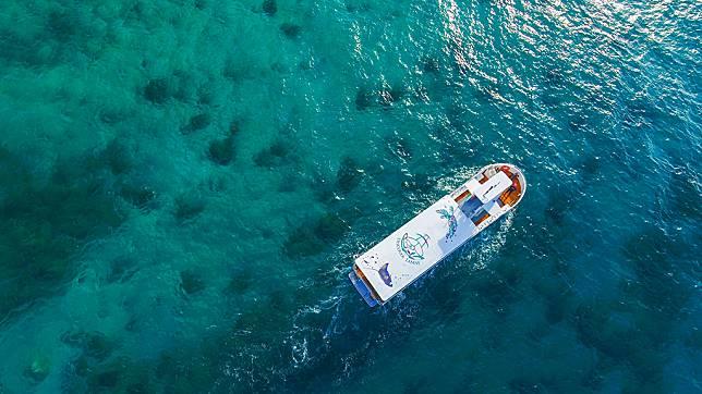 小琉球水上活動推薦-小琉球探索號玻璃船
