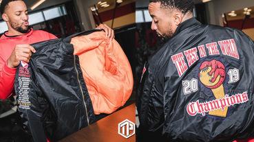 Toronto Raptors NBA 總冠軍 Drake特製飛行夾克曝光!