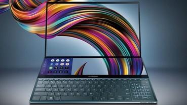 雙 4K 螢幕筆電!Asus ZenBook Pro Duo 售價 104,900 元起跳,升級版 ZenBook 15 同步登場