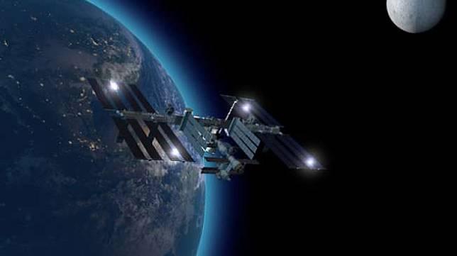 Ilustrasi stasiun antariksa internasional (ISS) [Shutterstock].