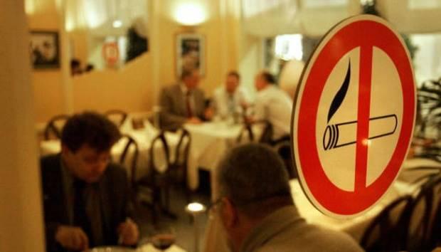 Ilustrasi larangan merokok. NIGEL TREBLIN/AFP/Getty Images