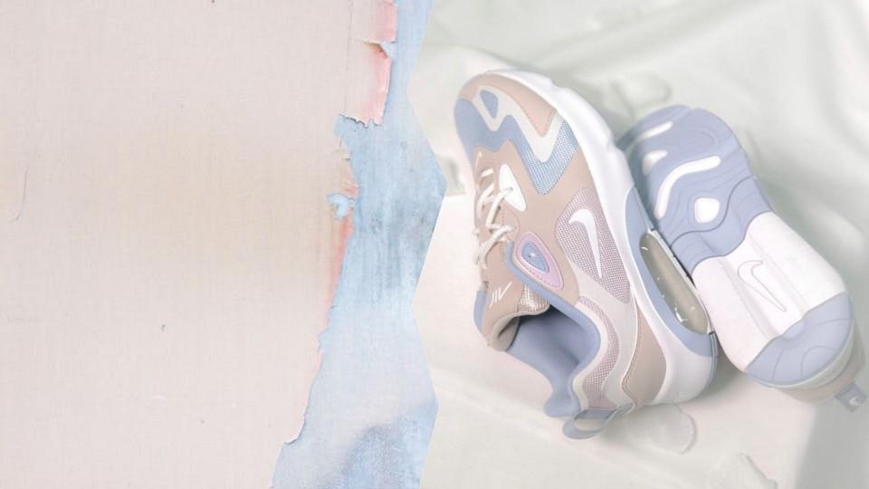 NIKE AIR MAX200「寧靜藍×果凍粉」