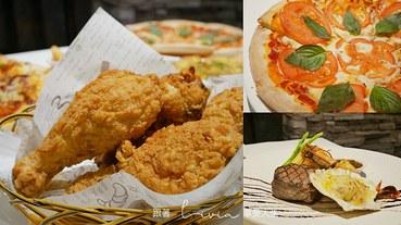 【林口披薩吃到飽】AlwaysPizza 359元披薩、炸雞吃到飽 │台北美食│林口美食│聚餐餐廳推薦 跟著Livia享受人生