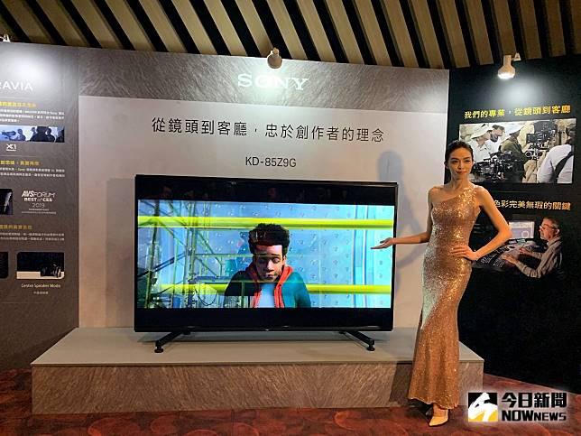 Sony 8K電視來了!85吋超細膩的解析度原來靠「這技術」