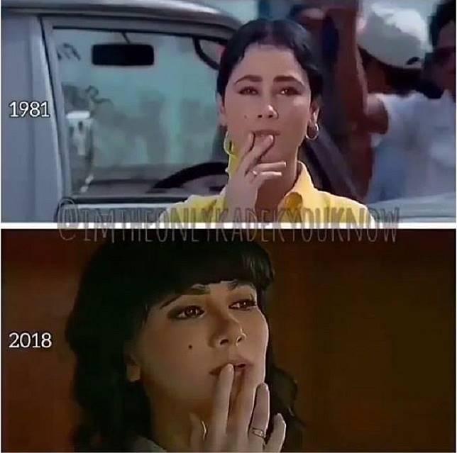 Lakukan adegan yang sama dengan Suzzanna di film tahun 1981