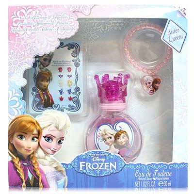 Disney Frozen 冰雪奇緣淡香水禮盒 (30ml淡香水+飾品2件組)