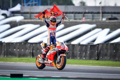Marquez Seals Sixth Motogp Title Says Difficult To Be Better In 2020 Thejakartapost Com Line Today
