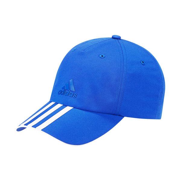 Adidas Clmlt 6P 3S [AY7863] 男女 帽子 鴨舌帽 老帽 六分割 經典 基本 穿搭 遮陽 藍
