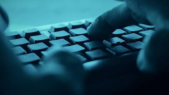 Ilustrasi situs pornografi anak melalui dark web.[Sky News]