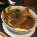 季節野菜のスープカレー - 実際訪問したユーザーが直接撮影して投稿した馬場下町カレー東京らっきょブラザーズの写真のメニュー情報