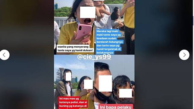Viral Dua Rombongan Mobil Ribut di Tol Ibu Hamil Ditonjok Sampai Pingsan