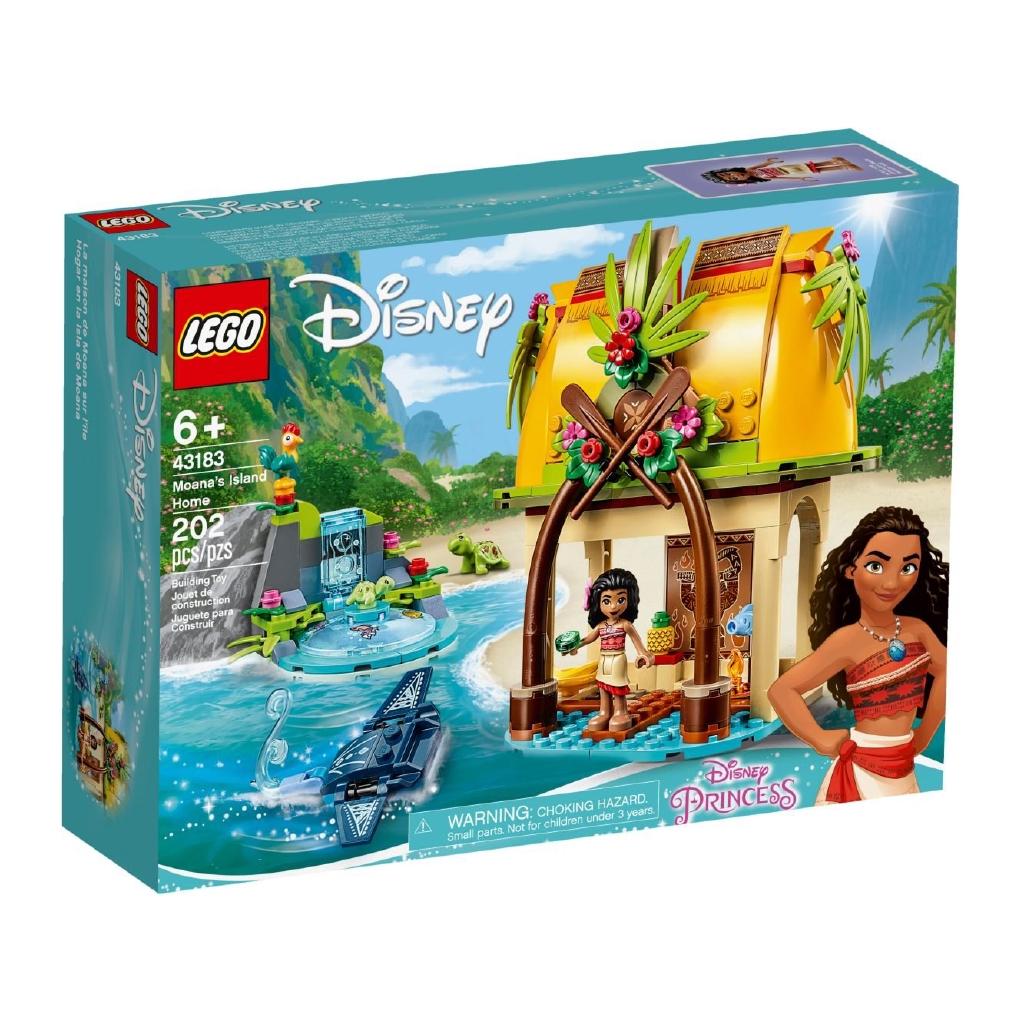 樂高 43183 迪士尼公主系列 海洋奇緣 莫娜的島嶼之家樂高 43183 迪士尼公主系列 海洋奇緣 莫娜的島嶼之家