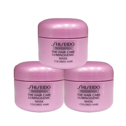 資生堂專業髮品 公司貨去除染燙後的化學殘留物添加護色成分防止色素流失讓染後髮色更持久,更亮麗