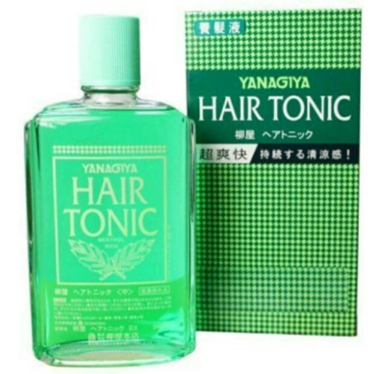 日本 柳屋YANAGIYA 養髮液HAIR TONIC 清爽型 240ML