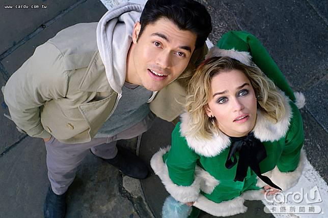 生活過的一蹋糊塗的女主角凱特,遇見了大帥哥湯姆,展開一段屬於聖誕節的愛情故事(圖/UIP 提供)