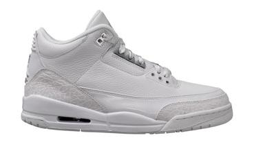新聞分享 / 純白配色回歸 Air Jordan 3 Retro 'Pure Money' 將於今夏復刻