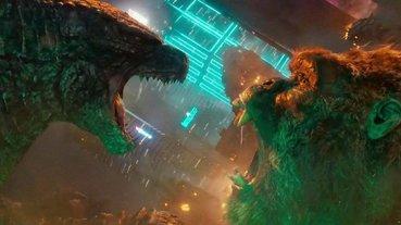 打架前先互噴口水!《哥吉拉大戰金剛》全新預告,台灣下個月 IMAX 同步上映!