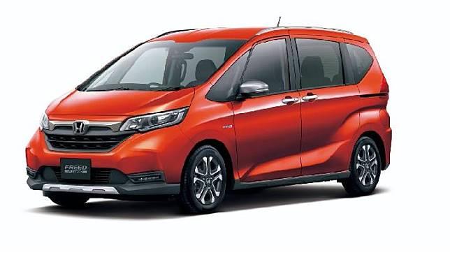 Honda Freed 2020 yang akan debut di Tokyo Motor Show 2019. Sumber: carscoops.com