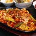 チェユック定食 - 実際訪問したユーザーが直接撮影して投稿した新宿韓国料理本格韓国料理店 招待 新宿東口店の写真のメニュー情報