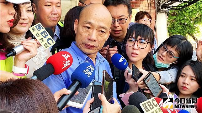 ▲高雄市長韓國瑜原訂台中行程取消。(資料照/記者郭俊暉攝)