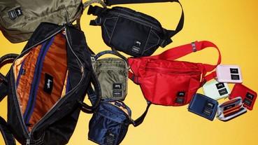 潮流品牌 Stussy 與日本知品包款品牌 PORTER 共同聯名推出亮彩夏季包款