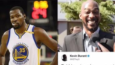 超糗!NBA 眾球星當場朗讀凱文·杜蘭特推特 連經典的「喝洗澡水」都被唸出來...