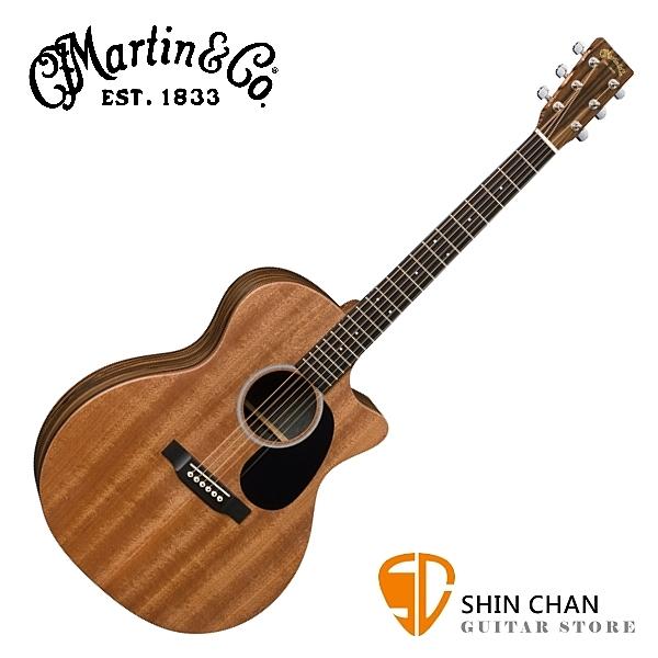 Martin GPCX2AE Macassar 可插電切角 單板民謠吉他 桶身:GP桶身 原廠公司貨