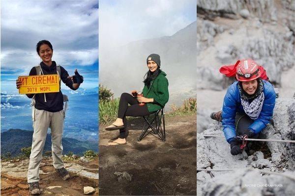5 Artis Perempuan Indonesia yang Ternyata Suka Naik Gunung Cool!