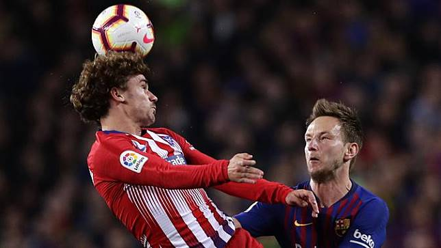 Urusan Tendangan Bebas, Griezmann Hanya Kalah Lawan Messi