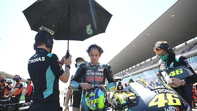 Valentino Rossi. (PATRICIA DE MELO MOREIRA / AFP)