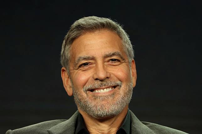 Actor, executive producer, and director George Clooney speaks on a panel for the Hulu series 'Catch-22', during the Television Critics Association (TCA) Winter Press Tour in Pasadena, California, US, February 11, 2019.