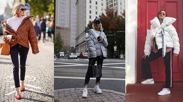 保暖又時髦,潮人最愛的羽絨外套怎麼每件都好好看啊