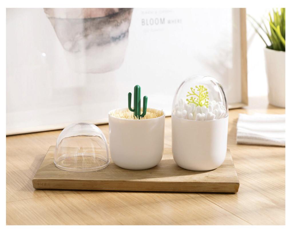 北歐簡約風牙籤盒 棉籤罐 棉花棒盒(4款)