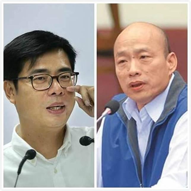 高雄》政論節目超驚人電話民調出爐 韓國瑜7%慘輸陳其邁92%