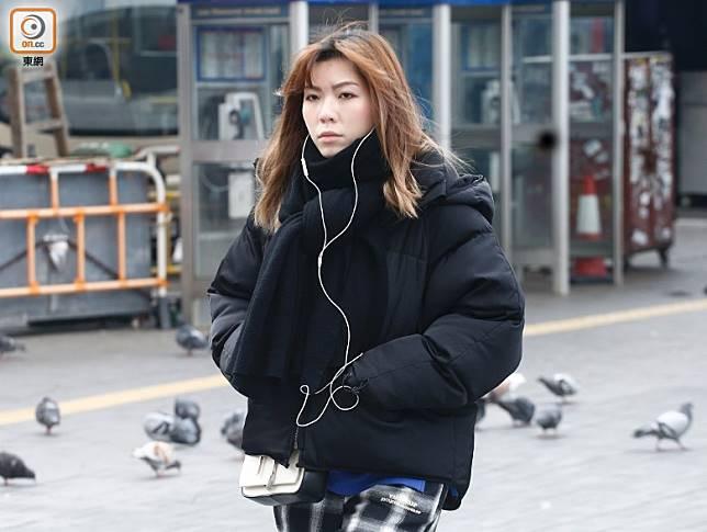 香港早上多區錄得均10度或以下低氣溫,市民出外要着多件衫。
