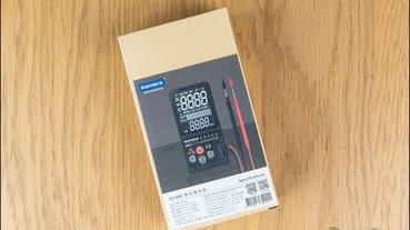 Kamera C2-600 數位萬用表開箱:新手也能輕鬆用,有關電的檢修神器