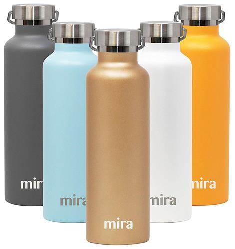 【美國代購】MIRA高山不銹鋼真空絕緣水瓶 25盎司 夏威夷藍