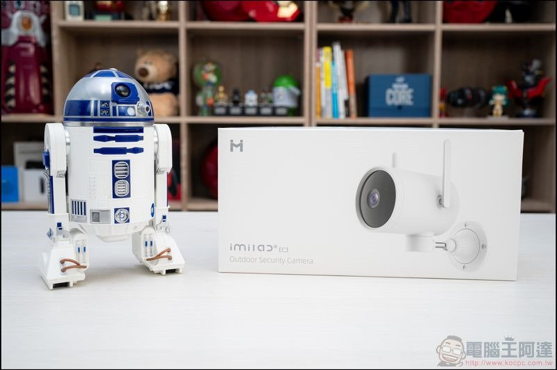 小白EC3全戶型智慧攝影機 開箱 - 01