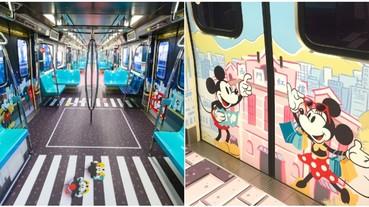 快來找「米奇在哪裡」!迪士尼歡慶米老鼠 90 週年大壽 台灣首輛「米奇捷運」陪你全台跑透透!