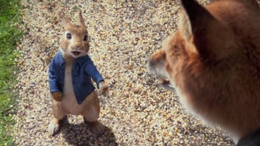 原來這隻藍色衣服的兔子是如此的瘋狂!比得兔將要登上大銀幕,跟一班動物朋友大開派對!