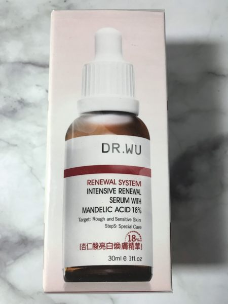DR WU 杏仁酸亮白煥膚精華18% 30ML效期2020.10【淨妍美肌】