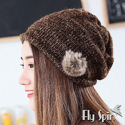 立體編織法精緻柔美獨特帽檐內含柔軟定型圈,不易變形雙層舒適內裡蓄熱防風手感柔軟馬海毛毛球柔軟