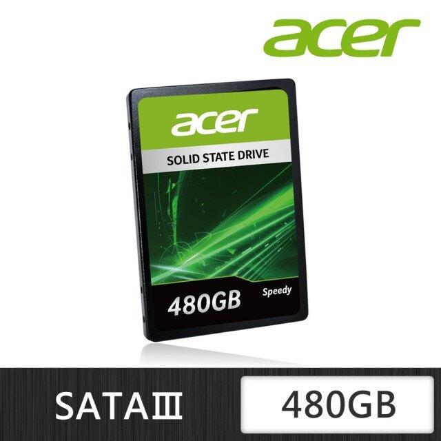 [富廉網]【Acer】SM2259XT 480GB 2.5吋 SATAIII SSD固態硬碟