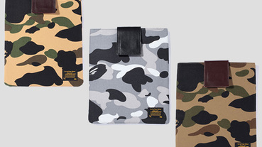 Bape 1st Camo iPad Case 迷彩保護套