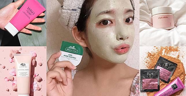 口罩痘預防再一發~暢通毛孔還能保濕,潔膚有感5款清潔面膜